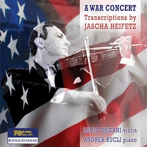 heifetz a war concert cd cover 300